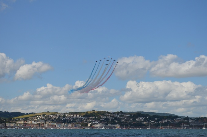 80. Red Arrows over Dawlish