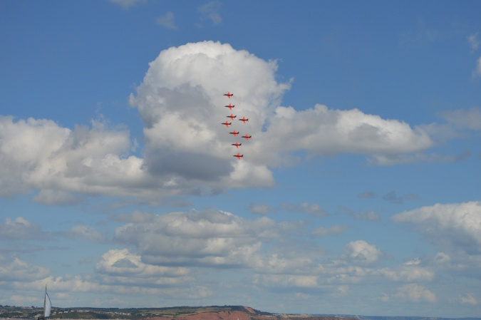 84. Red Arrows over Dawlish a