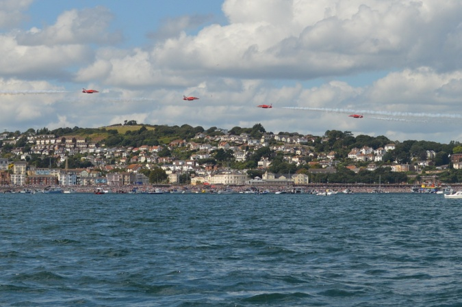 86. Red Arrows over Dawlish b
