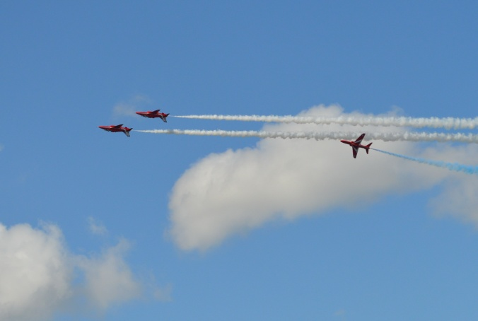 91. Red Arrows over Dawlish a