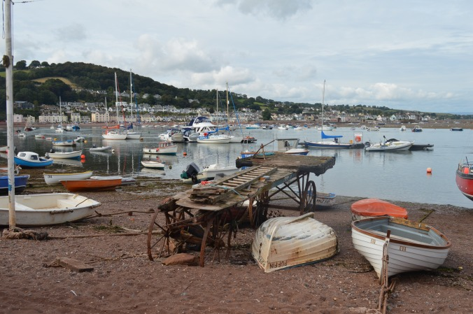 100. On the visitors' pontoon, Teignmouth