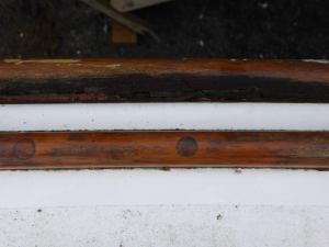 17. Starboard rubbing strake
