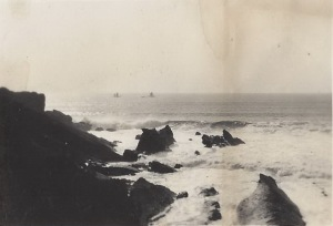 Ceres, Agnes and Fireflash unable to enter Bude - 10th September 1936