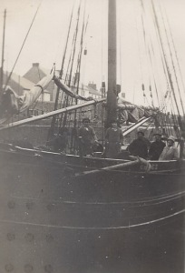 15. Ceres in dry-dock - visitors aboard