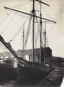 'Agnes Craig' of Chester 128 gross tons built 1884 by Ferguson Baird Connals Quay well-kept vessel with auxilliary engine