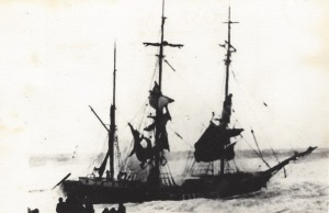 'Capricorno', Austrian barque, wrecked off the Breakwater, Bude, 28th December 1900