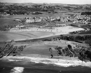 Bude Breakwater in the 1960s