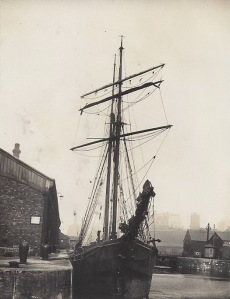C&F Nurse of Falmouth, steel schooner built 1900 by Lean of Falmouth