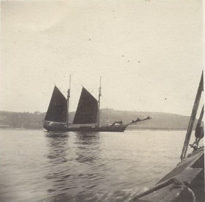 'Crown' of Denmark at Falmouth 1926