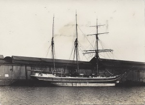 'H C Christensen' of Marstal, Danish barquentine
