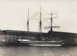 'H C Christensen' of Marstal, Danish barquentine