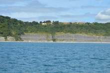 The undercliff, approaching Lyme Regis